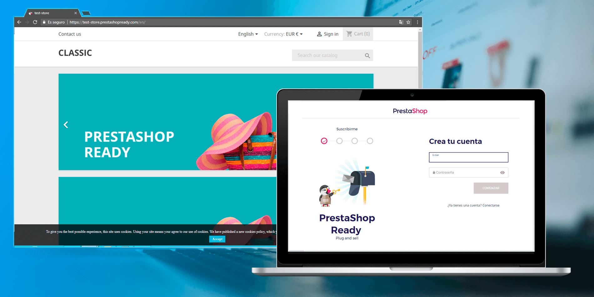 diseño de tienda online con prestashop vs wix