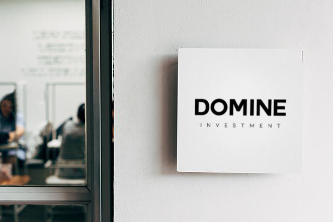 diseño logo interior domine