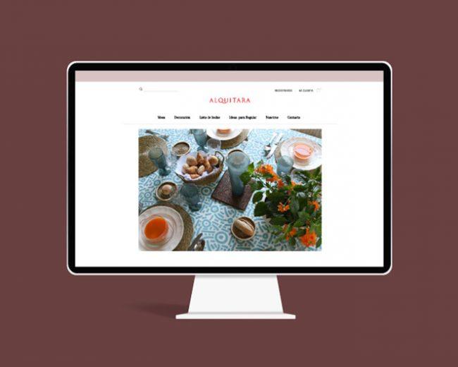 Nuevo diseño de tienda online para Alquitara