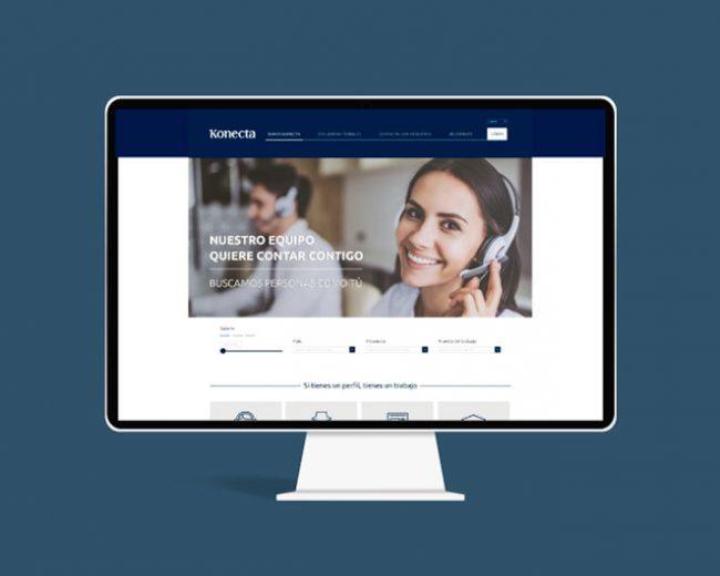 Propuesta de diseño web para Konecta