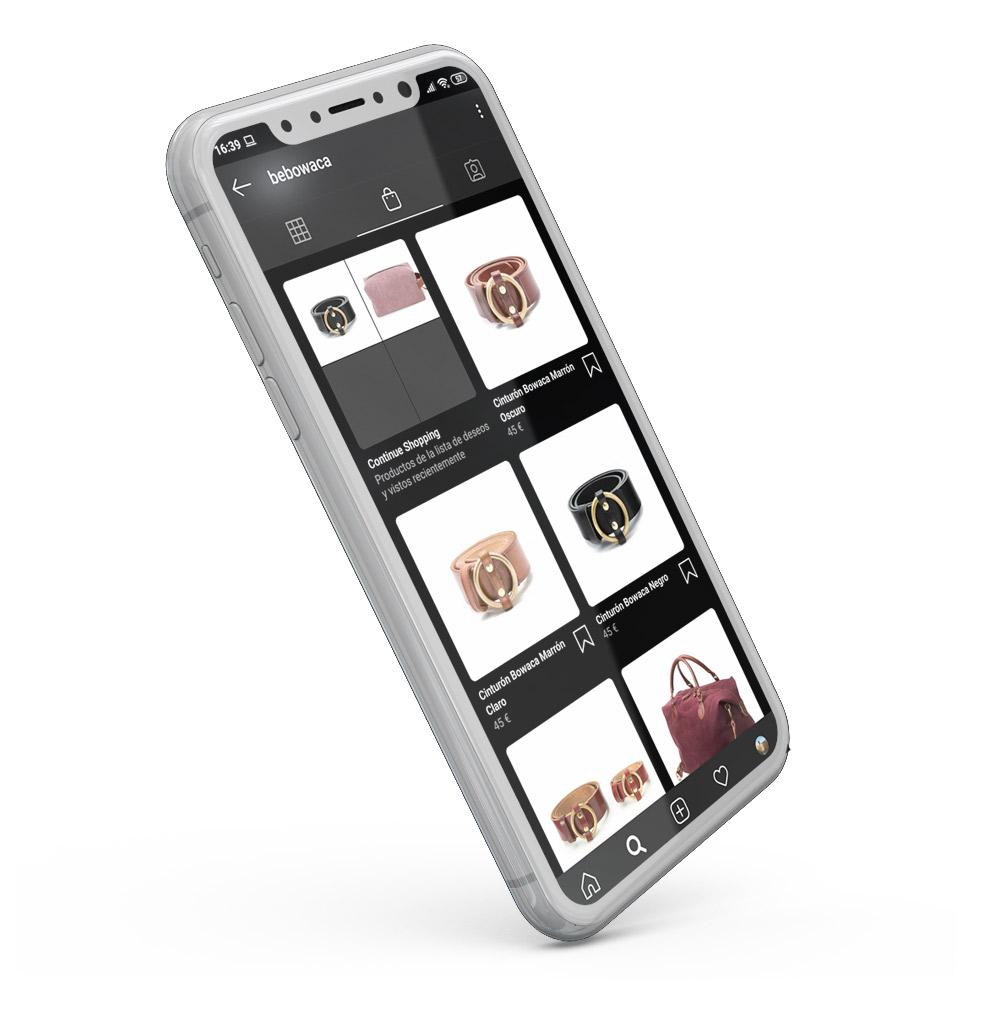 diseño de tienda online en instagram y facebook