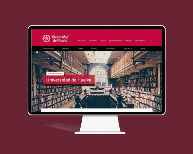 Propuesta de diseño web de la Universidad de Huelva
