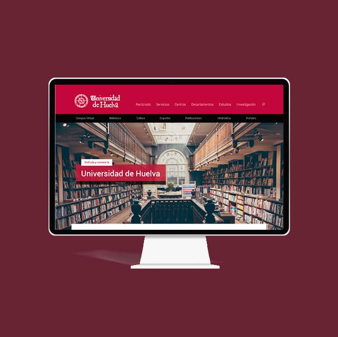 nuevo diseño web universidad de huelva