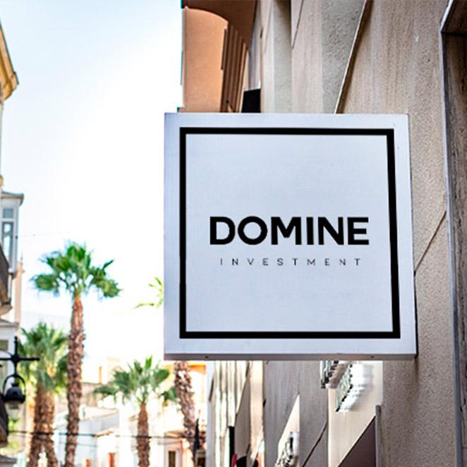 diseño logotivo domine