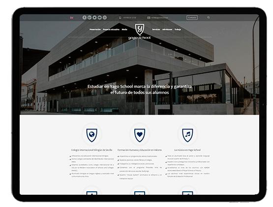 Diseño web Yago School