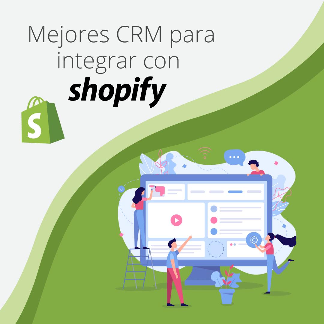 mejores CRM shopify