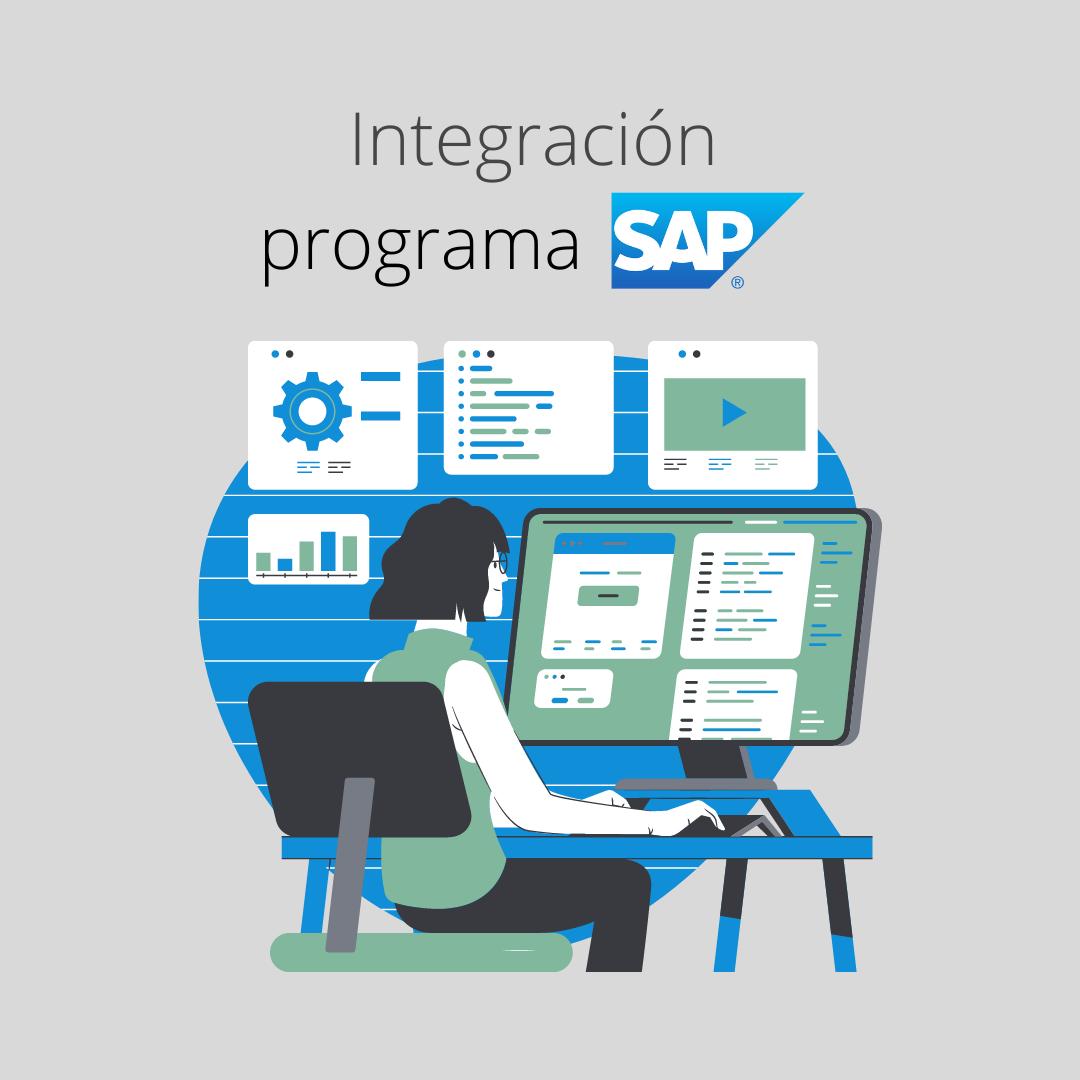 integración programa SAP