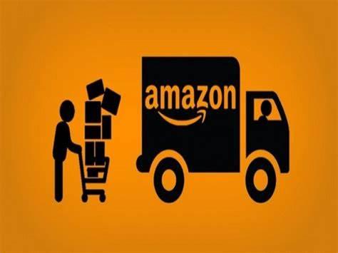 entrega de productos a la logística de Amazon
