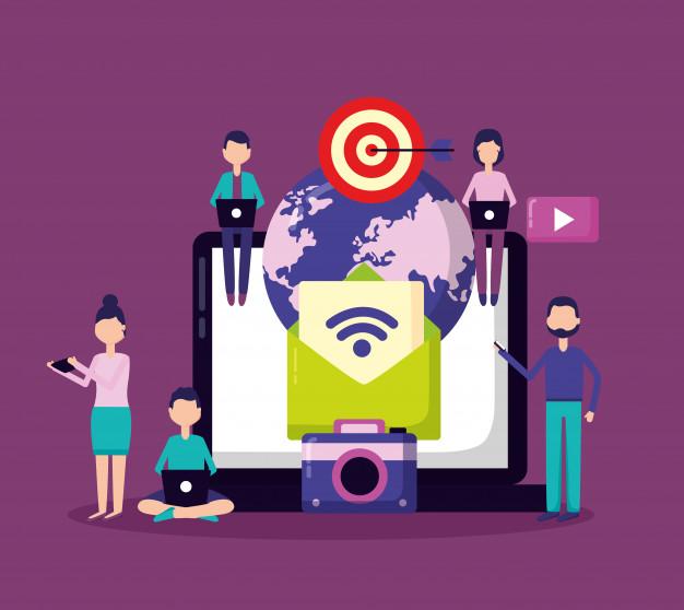 Agencia de marketing digital trabajando para optimizar resultados