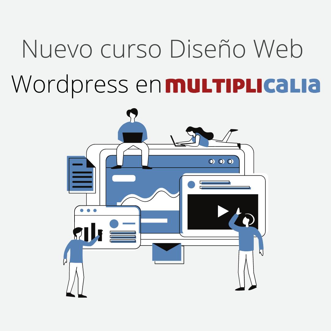 curso diseño web Wordpress