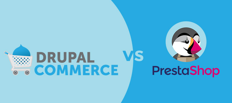 drupal commerce vs prestashop tiendas online